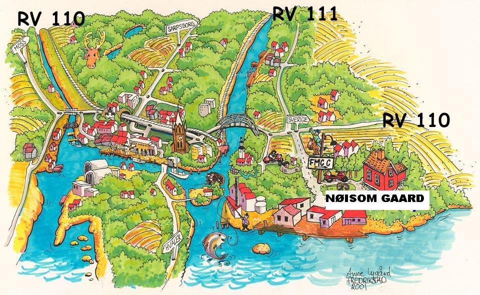 fredrikstad kart Adresse til Nøisom Gård fredrikstad kart
